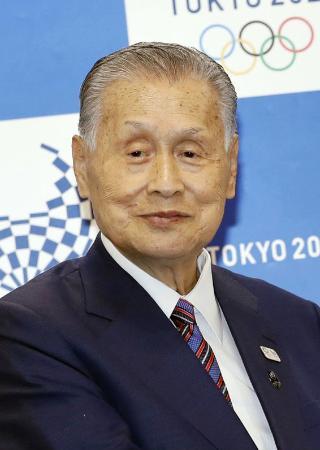 日本ラグビー協会名誉会長の森喜朗元首相