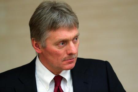 ロシアのペスコフ大統領報道官(タス=共同)
