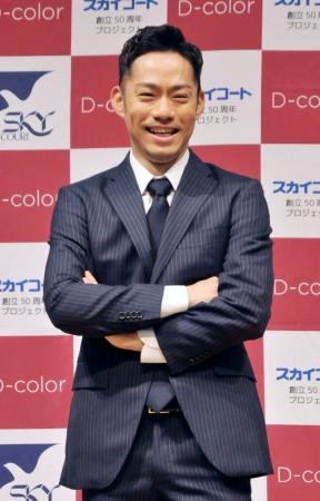 東京都内で行われたイベントで笑顔を見せるフィギュアスケート男子の高橋大輔=12日