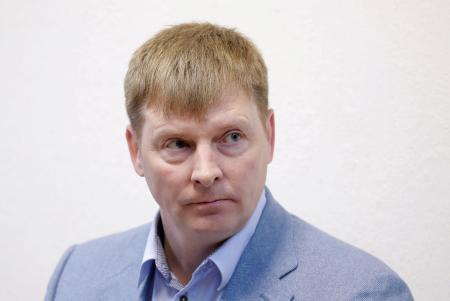 アレクサンドル・ズブコフ氏=11日、モスクワ(ロイター=共同)