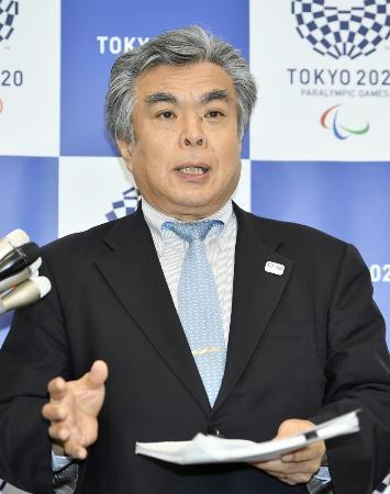 2020年東京五輪・パラリンピック組織委の布村幸彦副事務総長