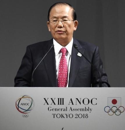 東京五輪・パラリンピック組織委の武藤敏郎事務総長