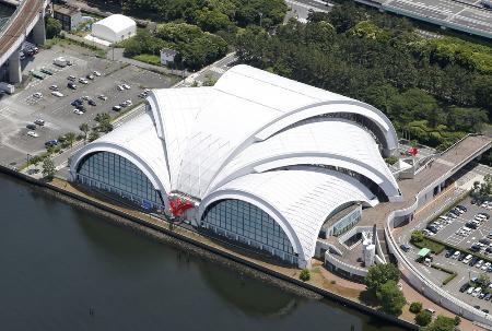 東京辰巳国際水泳場=東京都江東区