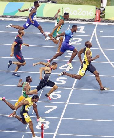 2016年リオデジャネイロ五輪の陸上男子100メートル決勝