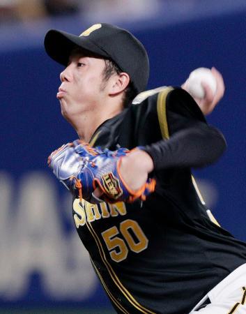 プロ初完封で2勝目を挙げた阪神・青柳=ナゴヤドーム