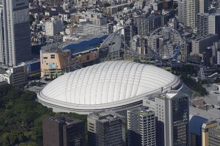 東京ドーム=東京都文京区