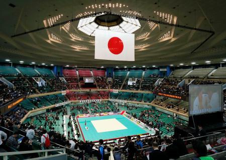 柔道の世界選手権が初めて開催される日本武道館=東京都千代田区