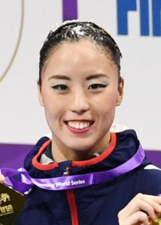 アーティスティックスイミングの東京五輪代表に決まった乾友紀子
