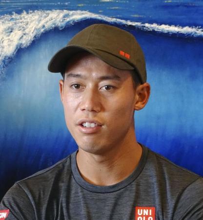 テニスの錦織圭選手