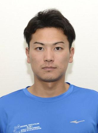 近代五種の東京五輪代表に決まった岩元勝平