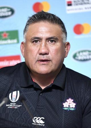 ラグビー日本代表のジェイミー・ジョセフ・ヘッドコーチ