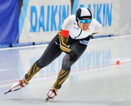 男子5000メートルBクラスで1位の一戸誠太郎=トマショフマゾウィエツキ(共同)