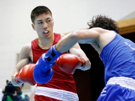 63キロ級で優勝した成松大介=阿久根市総合体育館
