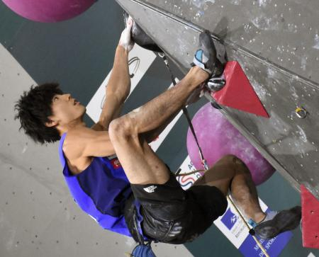 男子複合予選の藤井快。6位で決勝に進出した=トゥールーズ(共同)