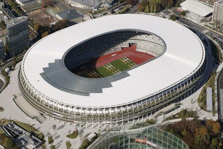 2020年東京五輪・パラリンピックのメインスタジアムとなる国立競技場