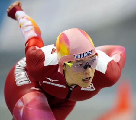 女子3000メートル 1位の菊池純礼=エムウエーブ
