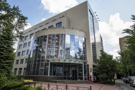 モスクワのロシア反ドーピング機関(RUSADA)。(AP=共同)