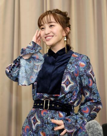 東京五輪の聖火ランナーに選ばれた喜びを語る百田夏菜子さん