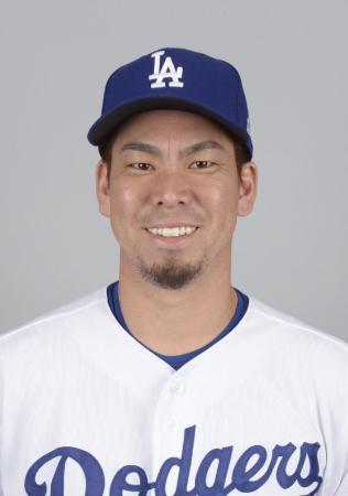 前田健太投手(ゲッティ=共同)