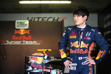 F1へのステップアップが期待される角田裕毅(C)Red Bull Content Pool