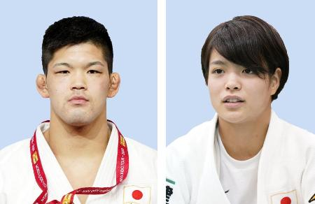 大野将平(左)、阿部詩