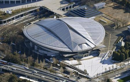 東京五輪の卓球会場となる東京体育館