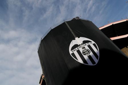 スペイン1部リーグ、バレンシアの本拠地スタジアム=10日(ロイター=共同)