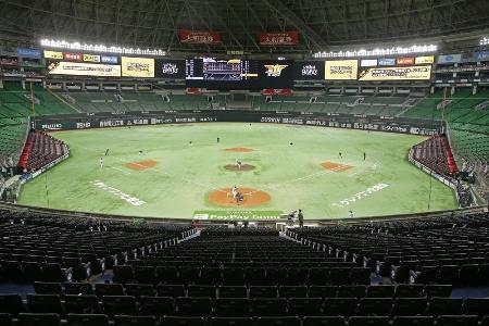 プロ野球ソフトバンクの本拠地「ペイペイドーム」=20日、福岡市