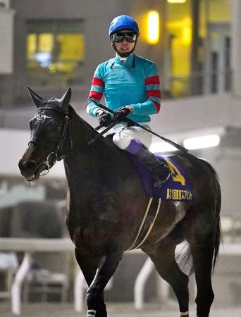 地方競馬の東京スプリントで8着となったヤマニンアンプリメに騎乗した武豊騎手=8日、東京都品川区の大井競馬場