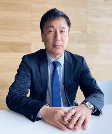 15日、オンラインで記者会見した運営会社の藤田秀彰代表取締役(B2香川提供)