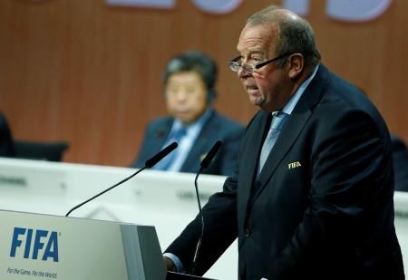 FIFAのドーゲ医事委員長=2015年、チューリヒ(ロイター=共同)