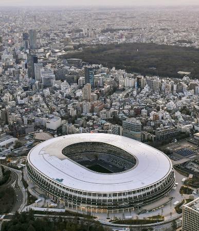 東京五輪・パラリンピックのメインスタジアムとなる国立競技場