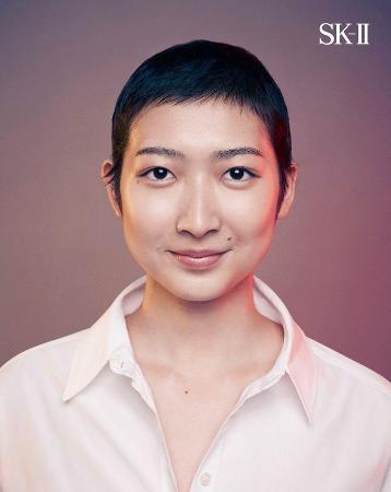 短髪姿を披露した競泳女子の池江璃花子選手(本人のインスタグラムから)