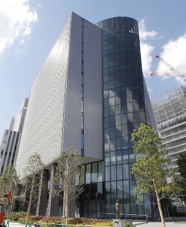JOCが事務局を置くビル=東京都新宿区