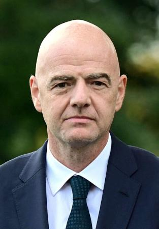 FIFAのインファンティノ会長(ロイター=共同)