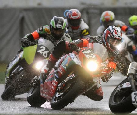 オートバイの鈴鹿8時間耐久ロードレース=2009年7月