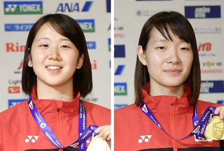 永原和可那(左)、松本麻佑(右)