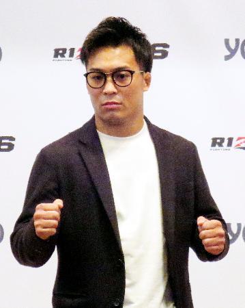 レスリングから総合格闘技に転向した太田忍=2日、東京都内