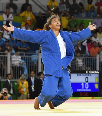 ブラジルのラファエラ・シルバ