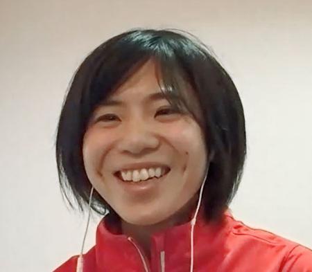 オンライン取材に応じる東京五輪女子マラソン代表の鈴木亜由子=6日