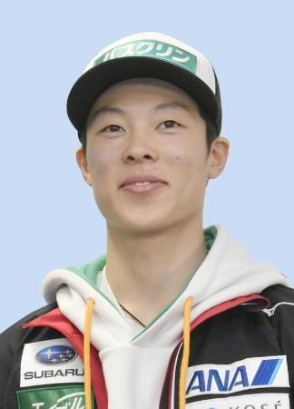 ノルディックスキー・ジャンプ男子の小林陵侑選手