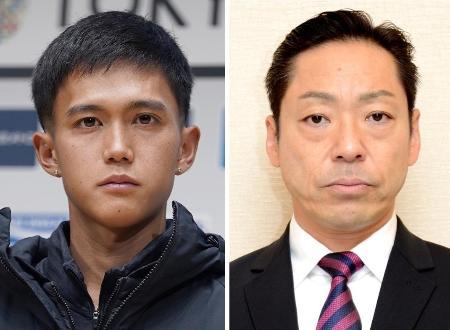 大迫傑選手(左)、香川照之さん