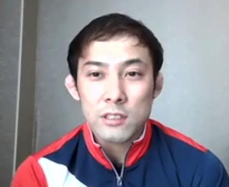 オンライン取材に応じる柔道男子60キロ級の高藤直寿=7日