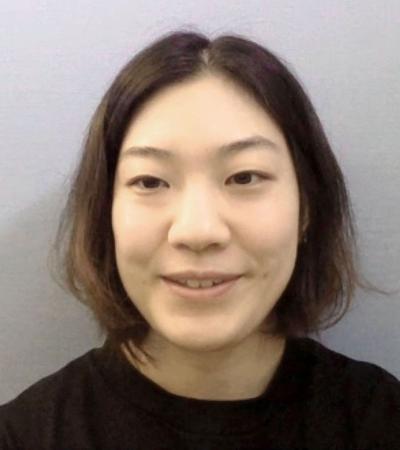 オンラインで取材に応じるアイスホッケー女子日本代表主将の大沢=13日
