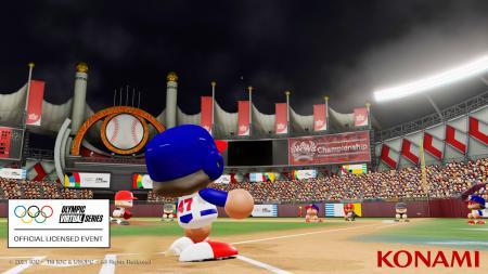「パワフルプロ野球」のゲーム画面(コナミデジタルエンタテインメント提供・共同)