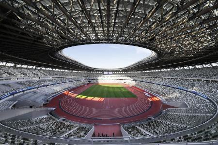 東京五輪・パラリンピックのメインスタジアムの国立競技場