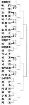 徳島県秋季大会 生光学園など2回戦へ