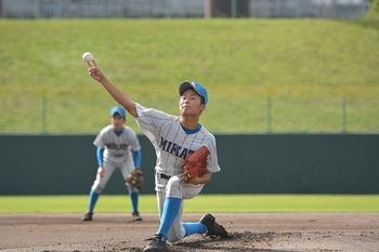 秋季福井県大会 美方が勝山に7回コールド勝ち