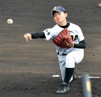 益田東、激戦制し4強 秋の高校野球島根県大会