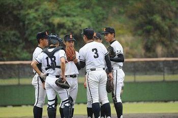 興南、2―7で大分商に敗れる 秋季九州大会
